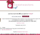 How much time have you wasted on Twitter ?