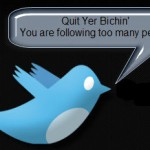 What to do when you reach the 2000 Following limit on Twitter