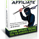 Grab the WordPress Ninja Affiliate Plugin at $37