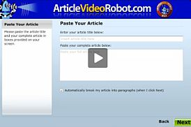 Article Video Robot