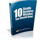 FREE Download – 10 Deadly Business Mistakes You Should Avoid