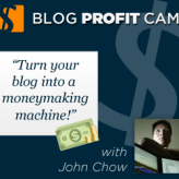 John Chow's Blog Profit Camp opens but only for 4 days