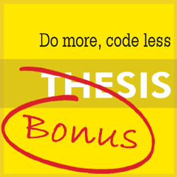Thesis Theme Discount