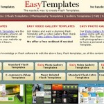 Easily Create Flash Websites with EasyTemplates.com