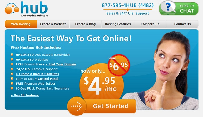 host your website for free