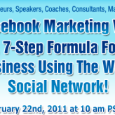 Register for a FREE Facebook Marketing Webinar with Mari Smith