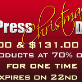 MaxBlogPress Christmas Deal – 70 % Discount on Plugins Only for the Next 48 Hours