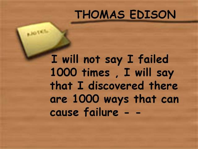 Inspirational quote by Thomas-Edison