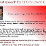 Good Morning Sunday: Short & Powerful Speech by Coca Cola CEO – Bryan Dyson