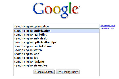 SEO results