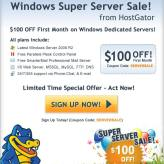 HostGator Dedicated Server Hosting at $100 Discount – Limited Time Offer
