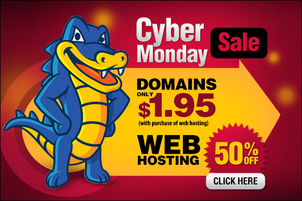 Hostgator Cybermonday Sale
