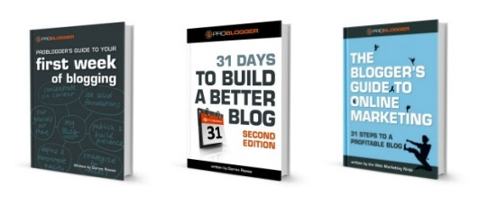 Problogger Blogging Books