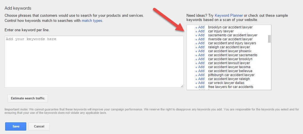 how to get the best from adwords express campaign