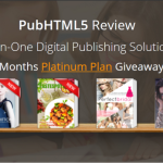 PubHTML5 Platinum Plan Giveaway for WebTrafficROI readers