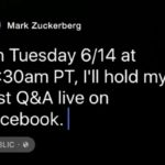 Mark Zuckerberg will answer your questions – Facebook Live on June 14