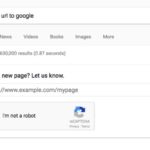Submit your URL's for indexing directly from Google search